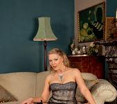 Abi Toyne - Leather Skirt And Heels 8