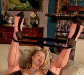 Abi Toyne - Leather Skirt And Heels 22
