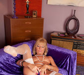 Cathy Oakely - Purple Vibrator 11
