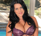 Lacie James - Purple Lingerie 3