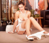 Ariel - White Stockings - Anilos 8