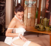 Ariel - White Stockings - Anilos 9