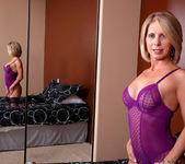 Jenny Mason - Purple Lingerie 3