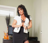 Leah - Office Play - Anilos 11