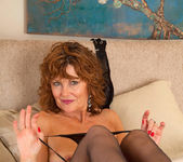 Cascade - Black Stockings - Anilos 18