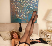 Cascade - Black Stockings - Anilos 23