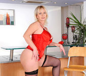 Kimi - Red Lingerie - Anilos 8