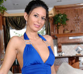 Nikki Daniels - Blue Dress 4