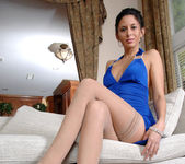Nikki Daniels - Blue Dress 7