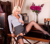 Jan Burton - Black Stockings 2