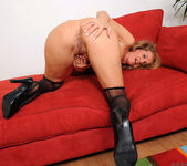 Sara James - Red Couch - Anilos 12