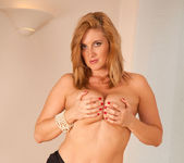Leona Lee - Black Thongs - Anilos 7
