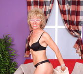Susan Lee - Black Undies - Anilos 5