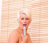 Sally Taylor - Silver Dildo 20