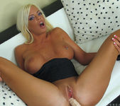 Jordan Blue - Dildo Toying 16