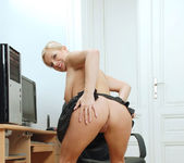 Luceana - Office Masturbation 8