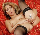 Janine - Black Stockings - Anilos 17