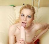 Scarlette Sax - Green Upskirt 12