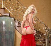 Jacy Andrews - Red Skirt - Anilos 7