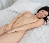 Arian spreading and fingering her pussy 19