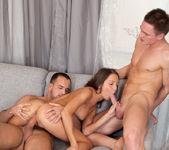 Foxy Di Teen MMF Anal Threesome - Nubiles 15