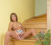 June - naked and fingering 8