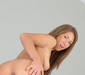 June spreading her pussy - Nubiles 18