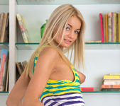 Vanesa - blonde teen slut gets naked 6