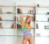 Vanesa - blonde teen slut gets naked 18