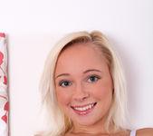 Naomi Nevena - teen blonde vibrates her pussy 7