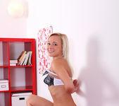 Naomi Nevena - teen blonde vibrates her pussy 10