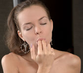 Candy Julia tasting her pussy - Nubiles 14