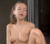 Candy Julia tasting her pussy - Nubiles 15