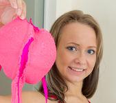 Aleksa taking off her panties - Nubiles 8