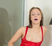 Aleksa taking off her panties - Nubiles 21