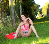 Aimee Ryan - outdoors dildoing 10