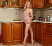 Aglaya spreading in the kitchen - Nubiles 4
