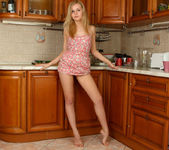 Aglaya spreading in the kitchen - Nubiles 8