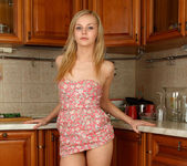 Aglaya spreading in the kitchen - Nubiles 10