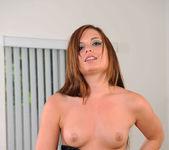 Abby Lexus pleasuring herself with a dildo 2