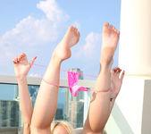 Alexia Sky - naked on the windy balcony 11