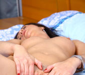 Jaiden - naked pussy on the bed 16