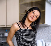 Jaiden - pussy fingering in the kitchen 3