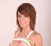 Addie - redhead taking off her panties 9