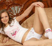 Aimee - naked teen with a wonderful smile 9