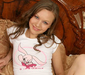 Aimee - naked teen with a wonderful smile 12