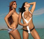 On a yacht - Ashley Bulgari & Angelica Kitten 5