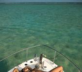 On a yacht - Ashley Bulgari & Angelica Kitten 12