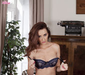 Sophia Smith Fucks Her Aroused Pussy On Top Of The Table 6