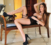 August Ames Moans To Penetrating Her Pussy 6